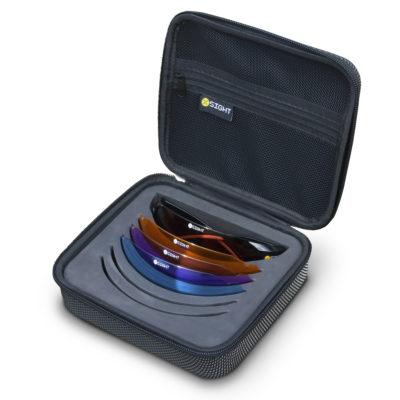 X Sight Archery Shooting Glasses - 4 lens - All Season set