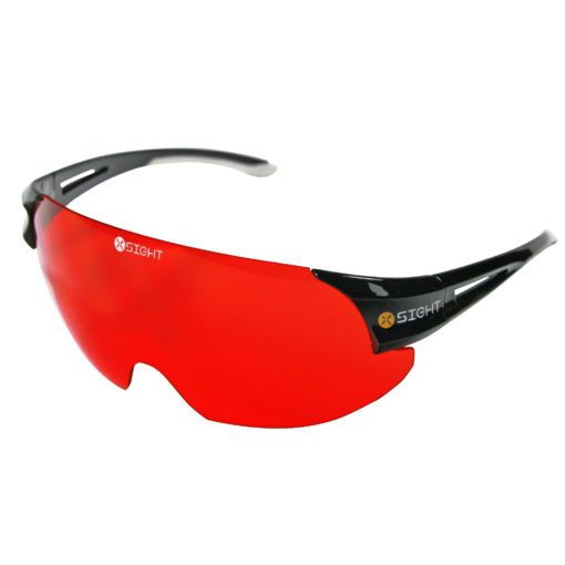 X Sight Archery Shooting Glasses - red Lens