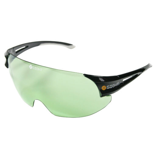 X Sight Archery Shooting Glasses - Light Green Lens