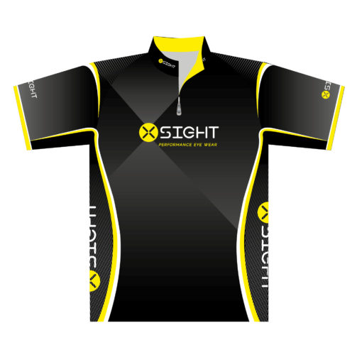 X Sight shooter shirt jersey t-shirt - front view