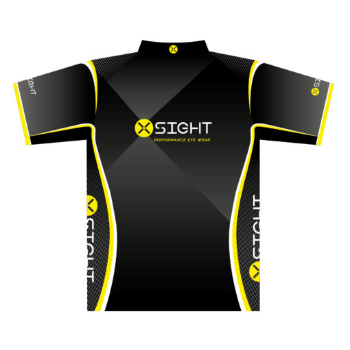 X Sight shooter shirt jersey t-shirt - reverse view