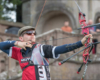 recurve archer Patrick Huston from Team GB competing at the National Series finals competition whiilst wearing X Sight archery glasses
